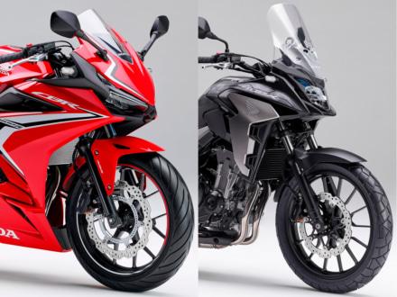 2019年 HONDA CBR400R&400Xが3月22日から販売開始!400Xは19インチ化、400Rはよりシャープな顔つきに