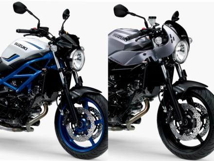 カラーリングを変更したSUZUKI SV650/Xが登場!さらにフロントブレーキの強化も実施