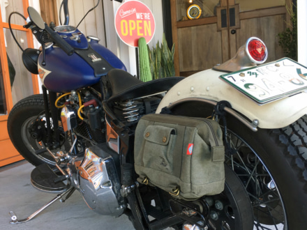 JAM'S GOLDより、大口開閉で使いやすいツールバッグサイズの車載バッグが新登場!