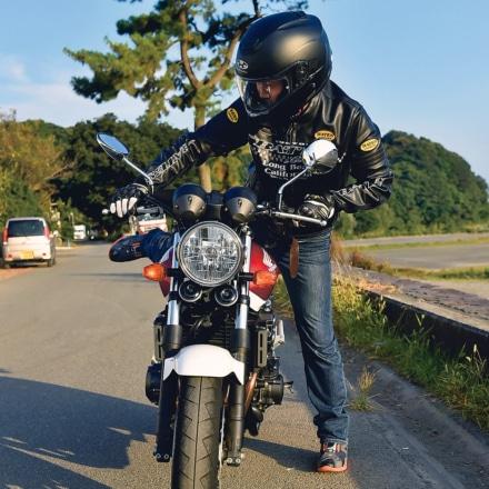 ①乗車 〜バイクにまたがってみよう〜