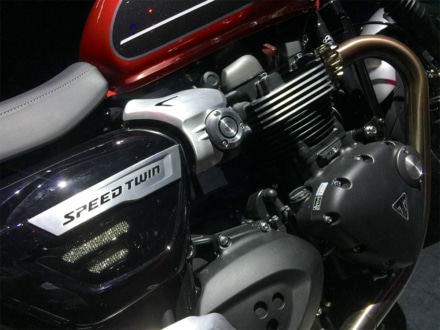TRIUMPH スピードツイン エンジン