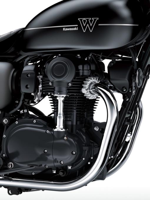 2019年モデル W800ストリートのエンジン