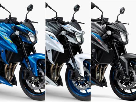 爽やかなブルーが魅力の3色を展開!2019年モデルのスズキ GSX-S750 ABSが2月21日より販売開始