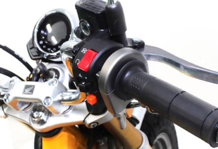 アクティブからスロットル開度を変更可能な『モンキー125(ABS)用 スロットルキット』が発売中