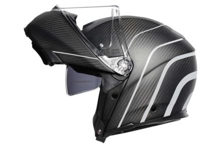 フルカーボンのフリップアップ式ヘルメット『AGV SPORTMODULAR』に新色が登場