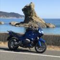 ライオン岩 お気に入りの海岸へツーリング。