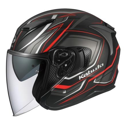 カブトからオープンフェイスヘルメットのEXCEEDに新グラフィックモデル『CLAW(クロー)』が登場