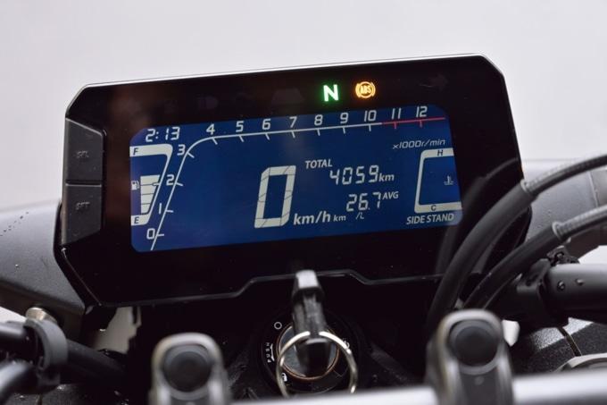 HONDA CB250R 液晶メーター