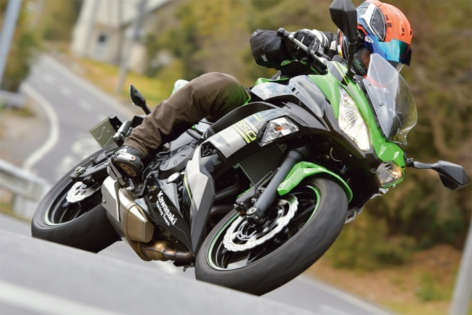 Kawasaki Ninja650 走行イメージ
