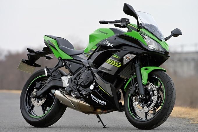 Kawasaki Ninja650 7:3ビュー