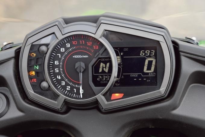 Kawasaki Ninja650 メーター