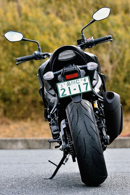 SUZUKI GSX750 ABS リヤビュー