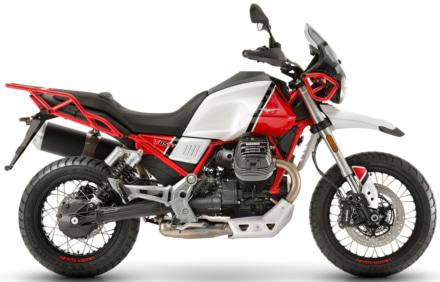 Moto Guzzi V85 TT カラハリレッド