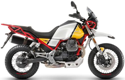 Moto Guzzi V85 TT サハライエロー