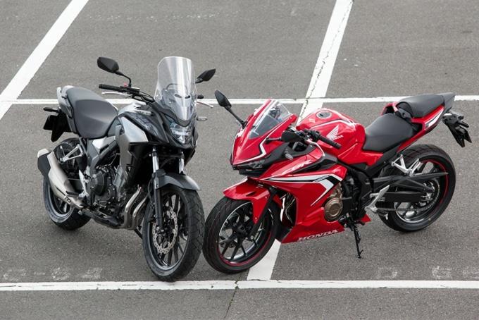 HONDA 400XとCBR400R