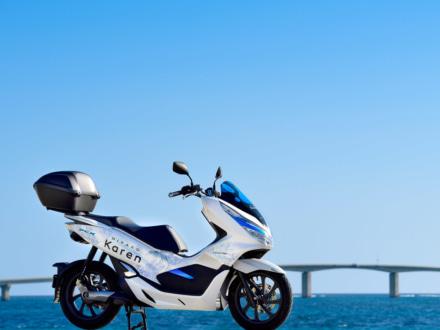 宮古島をホンダ PCXエレクトリックでめぐれるように!電動バイクのレンタルサービスがスタート