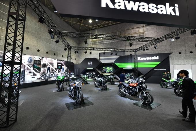 東京モーターサイクルショー カワサキブース