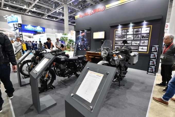 東京モーターサイクルショー2019 ロイヤルエンフィールドブース