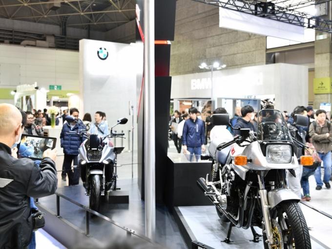 東京モーターサイクルショー スズキブース