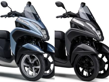 2019年モデルのヤマハ トリシティ125&155が3月20日より販売開始!155はシート変更で足つき性アップ