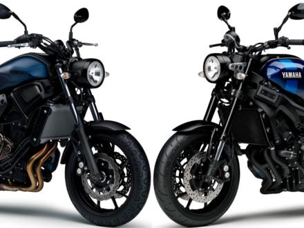 両モデルに青基調の新色が登場!2019年モデルのヤマハ XSR700&XSR900が3月28日より販売スタート