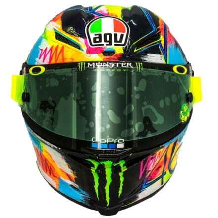 AGV ROSSI WINTER TEST 2019 フロントビュー
