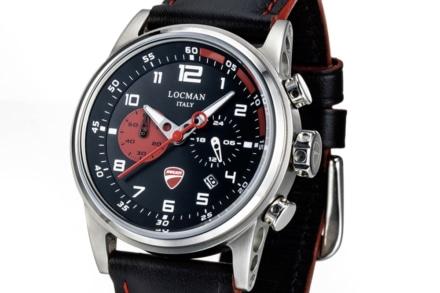 ドゥカティの情熱が腕時計に!イタリアの時計メーカーロックマンとのコラボモデルが登場