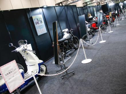 東京モーターサイクルショー2019 レディスサポートスクエア 車両展示