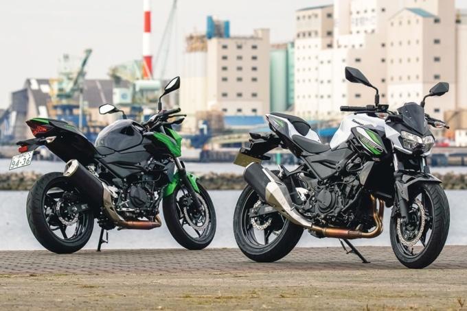 2019年式 カワサキ Z250&Z400