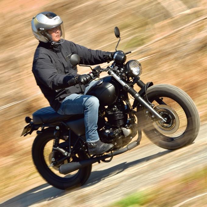 MUTT MOTORCYCLES サバス250 走行
