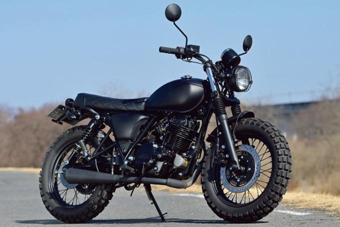 MUTT MOTORCYCLES サバス250 7:3イメージ