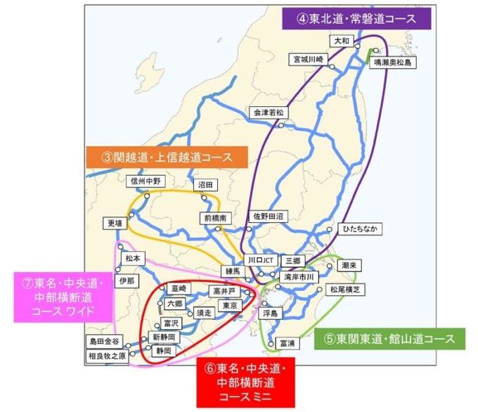 2019 ETC二輪車ツーリングプラン 首都圏