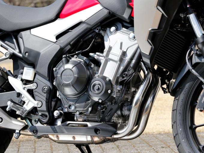 HONDA 400Xのエンジン