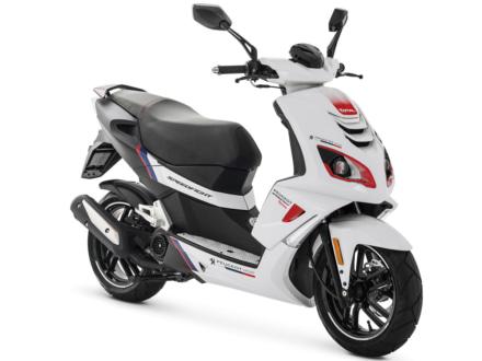 プジョースクーター・スピードファイトシリーズに50ccモデルとなるスピードファイト50 Rカップが登場!