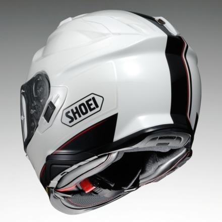 SHOEI GT-Air2 REDUX TC-6(ブラック×ホワイト)リヤビュー