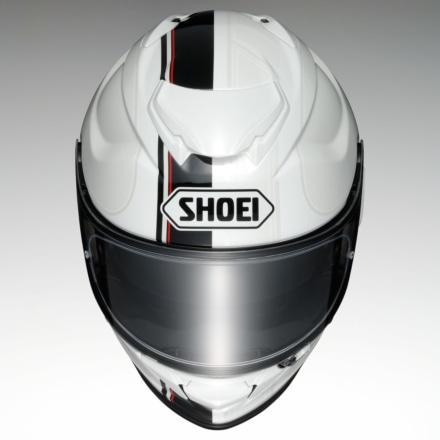 SHOEI GT-Air2 REDUX TC-6(ブラック×ホワイト)トップビュー