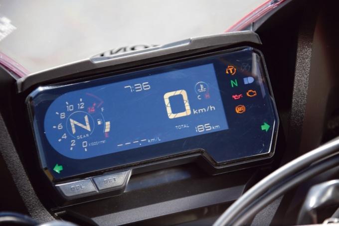 2019年モデル HONDA CBR650R デジタルメーター