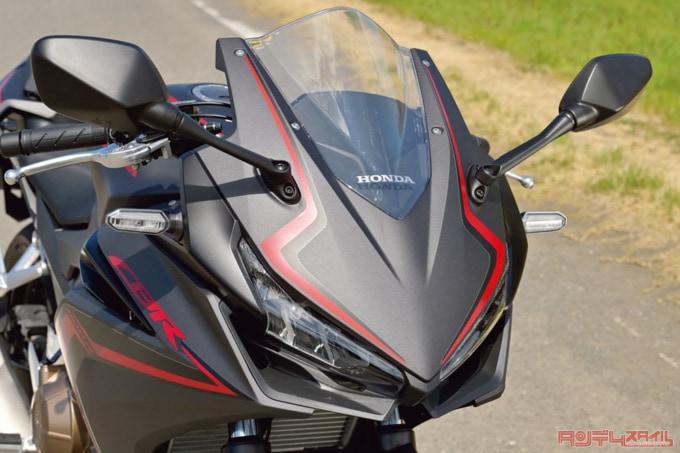2019年モデル HONDA CBR400R フロントフェイス