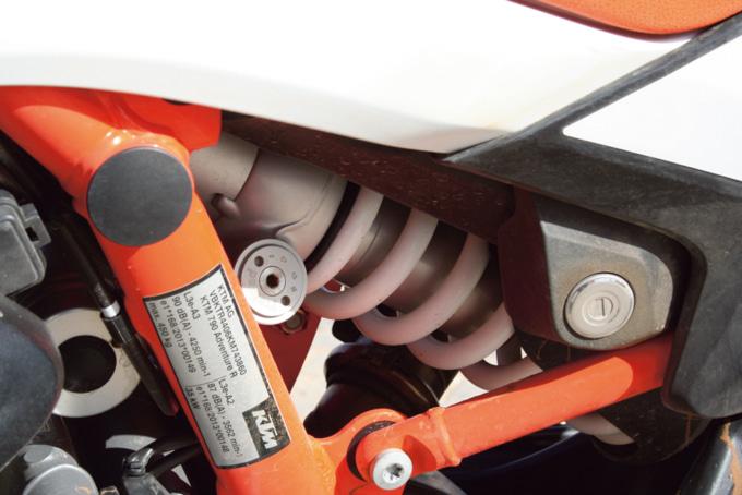 2019年モデル KTM 790アドベンチャーR リヤショックアブソーバー