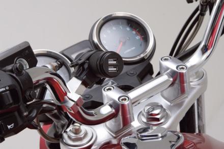 バイク用電源ソケット
