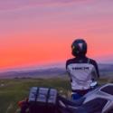 大観峰からの朝日