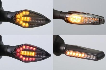 キジマから注目度バツグンの『LEDシーケンシャルウインカー』が登場!汎用製品でEマーク取得済み