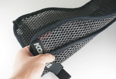 コミネから通気性・クッション性の向上とズレ防止が期待できる『3Dメッシュシートカバー』が登場