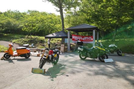 バイクエリア準備中!! ACO CHiLL CAMP 2019が、いよいよ明日(5月18日)からスタート!