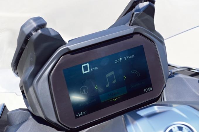 BMW C400GT デジタルメーター
