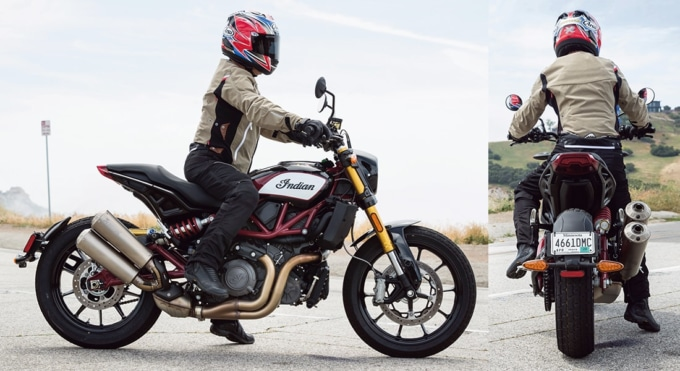 Indian Motorcycle FTR1200S 足つき&乗車ポジション