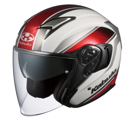 カブトからオープンフェイスヘルメットのEXCEEDに新グラフィックモデル『DEUCE(デュース)』が登場