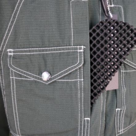 マックスフリッツ MFS-2280 プロテクトスタンドカラーシャツ 胸パッド