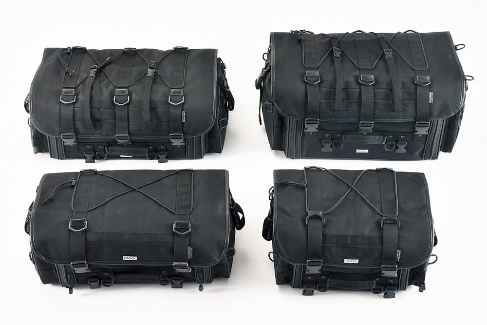 プロト IGAYAのツーリングシートバッグシリーズ