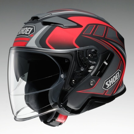 SHOEI J-Cruise Ⅱ AGLERO TC-1(レッド×ブラック)